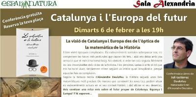 2018-02-06. Catalunya y la Europa del futuro. Conferencia de Juli Gutièrrez Deulofeu en Girona. 400x199px.