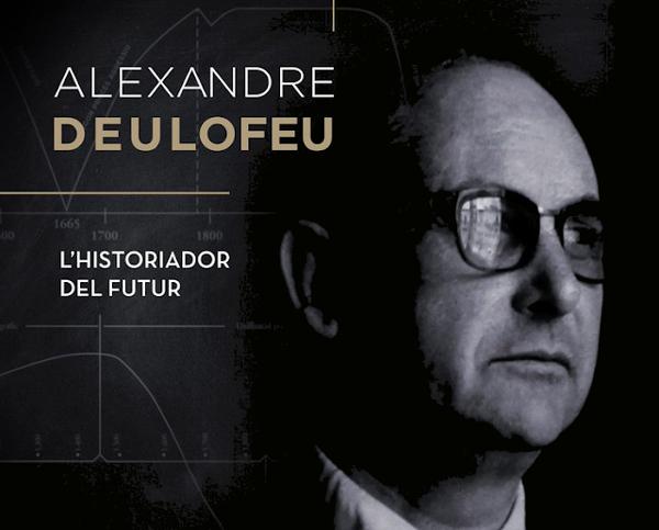 Alexandre Deulofeu, l'historiador del futur. Portada DVD.