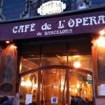 Cafè de l'Òpera. Façana.