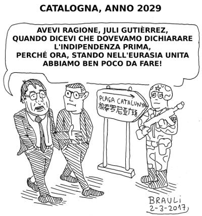 Catalunya_anno_2029_Carles_Puigdemont_e_Juli_Gutierrez_Deulofeu_italiano_400x427px