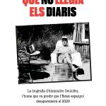 David de Montserrat i Nonó. Juli Gutièrrez Deulofeu. L'home que no llegia diaris. Columna Edicions. Portada.