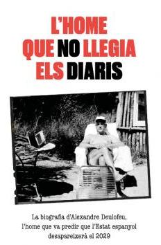 David de Montserrat Nono. Juli Gutièrrez Deulofeu. L'home que no llegia els diaris. Portada llibre.