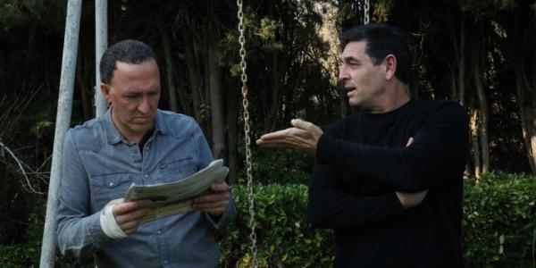 David de Montserrat i Nonó (Esquerra) i Juli Gutiérrez Deulofeu (Dreta). Foto: Maria Castanyer.