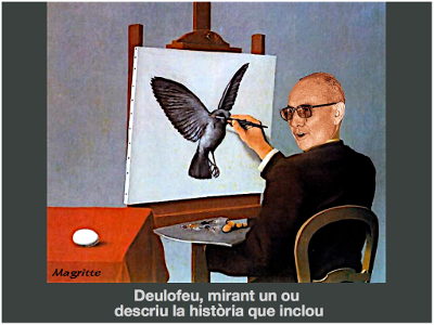 Joan Bosch Agustí. Deulofeu. Estampa de Magritte. 015. 400x300px.