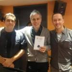 Juli Gutièrrez Deulofeu, Albert Om i David de Montserrat a RAC1.