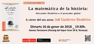 La Matemàtica de la Història a Terrassa. 18-1-2018.