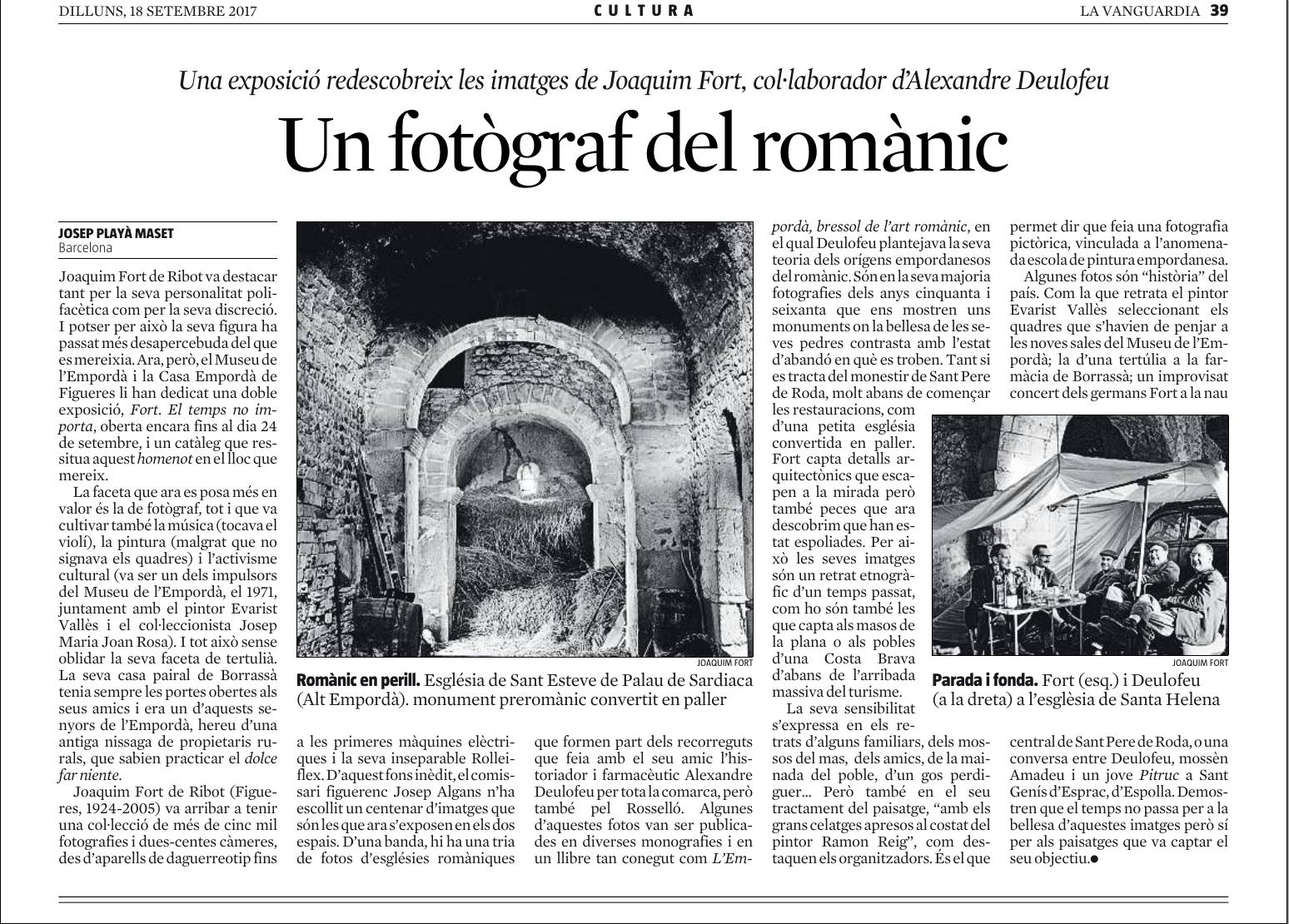 Un fotògraf del romànic.