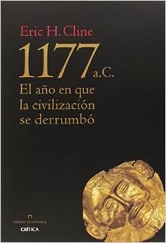 1177. El año que la civilización se derrumbó. Portada.