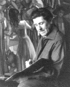 El pintor figuerenc Maria Baig (Figueres, 1906-1991).