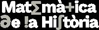 Matemàtica de la Història. Logotip.